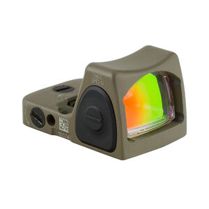 Trijicon RMR Type 2 Adjustable LED Sight 6.5 MOA Red Dot No Mount FDE