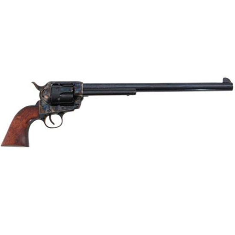 "Traditions 1873 Buntline Single Action Revolver .45 Long Colt 12"" Barrel 6 Rounds Walnut Grip Case Hardened Blue Finish SAT73103"