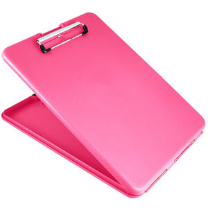 US-Works SlimMate Storage Clipboard Letter/A4 Size, Pink
