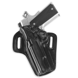 Galco Concealable Belt Holster Fits GLOCK 29/30 Left Hand Leather Black