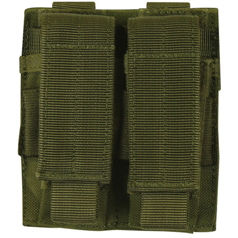 Fox Outdoor Dual Pistol Mag Pouch Olive Drab 57-5520