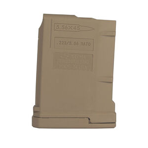 JE Machine .223/5.56 10 Round Magazine Tan
