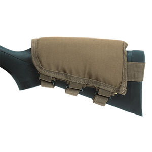 Voodoo Tactical Fixed Rifle Stock Cheek Rest Polyester Coyote 20-942207000
