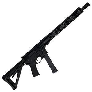 "Jacob Grey Ballisto 9mm Luger AR-9 Semi Auto Rifle 16"" Barrel 32 Rounds GLOCK Magazine M-LOK Free Float Hand Guard Carbine Stock Black"