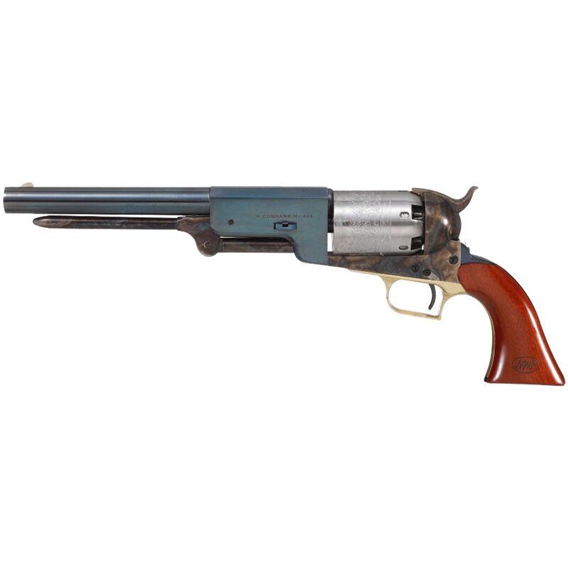 "Cimarron W. F. Call Walker .44 Cal. Black Powder Revolver 9"" Barrel 6 Rounds Walnut Grips Blued/White/Case Colored Finish"