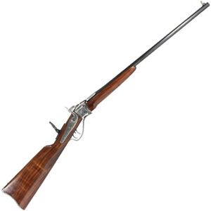 "Lyman 1878 Sharps Carbine 140th Anniversary Falling Block Rifle .30-30 Win 24"" Barrel Single Shot Walnut Stock Silver/Blued Finish"