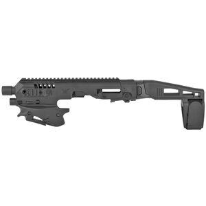 CAA MCK Micro Roni Standard Conversion Kit Fits GLOCK 17/19/45 with Pistol Brace Black