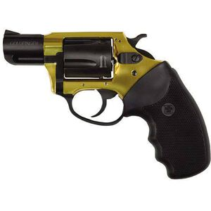 "Charter Arms Undercover Lite Revolver .38 Special +P 2"" Barrel 5 Round Black Rubber Grip Aluminum Black Gold Finish 53890"