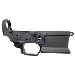 Sharps Bros. Livewire Forged AR-15 Stripped Lower Receiver Multi-Caliber Ambi Bolt Release Black Finish