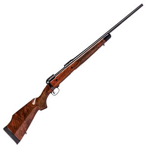 """Savage Arms Model 110 125th Anniversary Edition .300 Savage Bolt Action Rifle 22"""" Barrel 4 Rounds Accutrigger American Black Walnut Stock Satin Black Finish"""