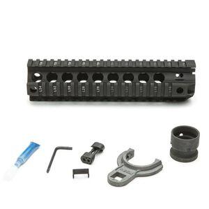 "Bravo Company Manufacturing QRF-9 AR-15 Picatinny Free Float Quad Rail Hand Guard 9"" Aluminum Hard Coat Anodized Matte Black"