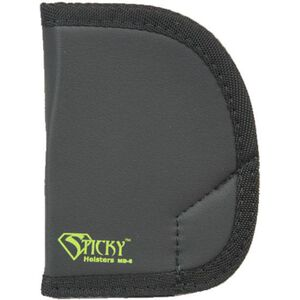 "Sticky Holsters MD-6 Medium Holster for Chiappa Rhino 2"" Barrel Ambidextrous Black"