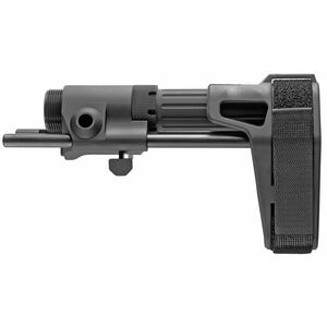 Maxim Defense CCS Pistol Stabilizing Brace Gen 6 for AR-15 Pistols Matte Black Finish