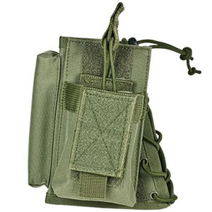 NcSTAR Stock Riser with Magazine Pouch Fixed Stocks Most AR and AK style Magazines Nylon Green