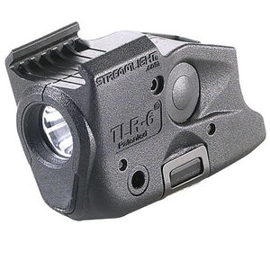 Streamlight TLR-6 Rail Mount Railed GLOCK 17/19/22/23/21 100 Lumen C4 LED CR-1/3N Polymer Black