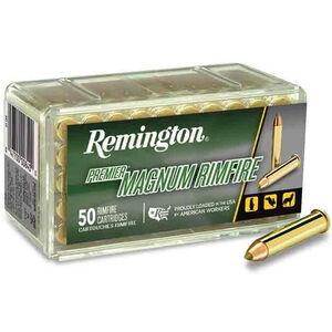 Remington Premier Gold Box .22 Magnum Ammunition AccuTip-V 33 Grain 2000 fps