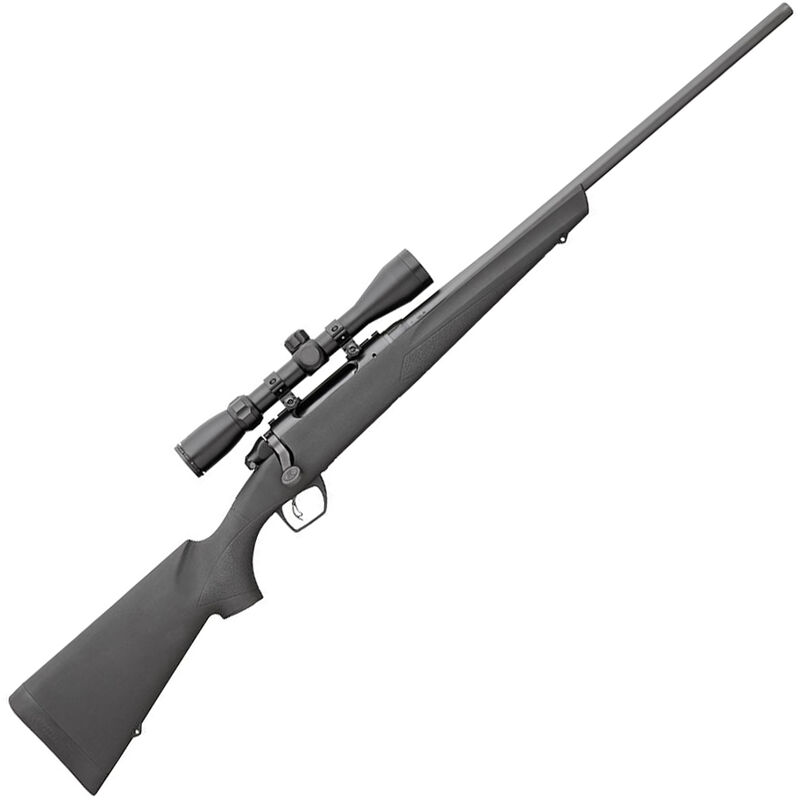 """Remington 783 Bolt Action Rifle 7mm-08 Rem 22"""" Barrel 4 Rounds with 3-9x40mm Scope Free Float Synthetic Stock Black Matte Blue Finish"""