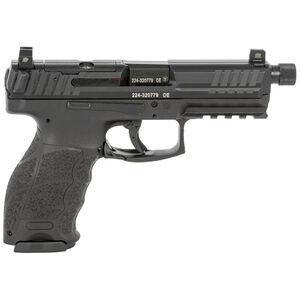 "H&K VP9 Tactical Optics Ready 9mm Luger Semi Auto Pistol 4.70"" Threaded Barrel 10 Rounds Striker Fired Suppressor Height Sights Polymer Frame Matte Black"