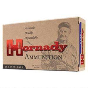 Hornady Match 6mm Creedmoor Ammunition 20 Rounds 108 Grain ELD Match Polymer Tip Projectile 2960fps