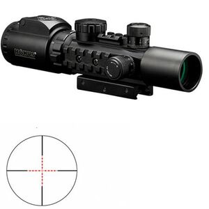 KONUSPRO AS34 2-6x28mm Riflescope - Engraved/Illum. Mil-Dot Reticle