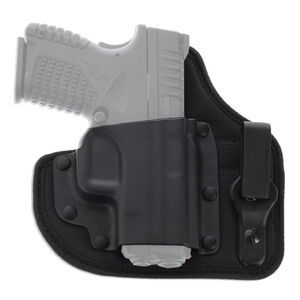 Galco QuickTuk Cloud Inside Waistband Holster Fits S&W M&P Shield Right Hand Belt Clip Kydex/Leather Black