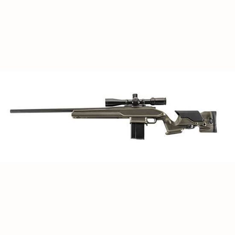 ProMag Archangel Howa 1500/Weatherby Vanguard Short Action Calibers Precision Rifle Stock 10 Round Magazine Polymer OD Green