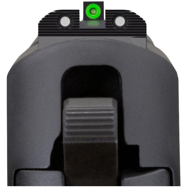 SIG Sauer X-Ray 3 Day/Night Sight Set #6 Green Ring Front and #8 Black Ring Rear Tritium Three Dot Sights U-Notch Steel Black SOX10002