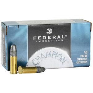 Federal Champion .22 LR Ammunition 40 Grain LRN 1240fps