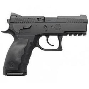 "KRISS USA SPHINX SDP Compact Alpha Semi Auto Pistol 9mm Luger 3.7"" Barrel 15 Rounds White Dot/U-Notch Sights Interchangeable Rubber Grips Aluminum/Polymer Frame Black SDP Coating Finish"