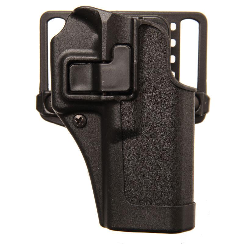 BLACKHAWK! SERPA CQC Belt/Paddle Holster Beretta 92/96/M9 Right Hand  Polymer Black 410504BK-R