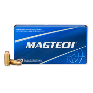 Magtech .40 S&W Ammunition 50 Rounds FMJ 180 Grains 40PS