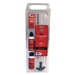 Outers Pistol Cleaning Kit 9mm/.380/.357/.38 Caliber Aluminum Rod Clam Pack 96418
