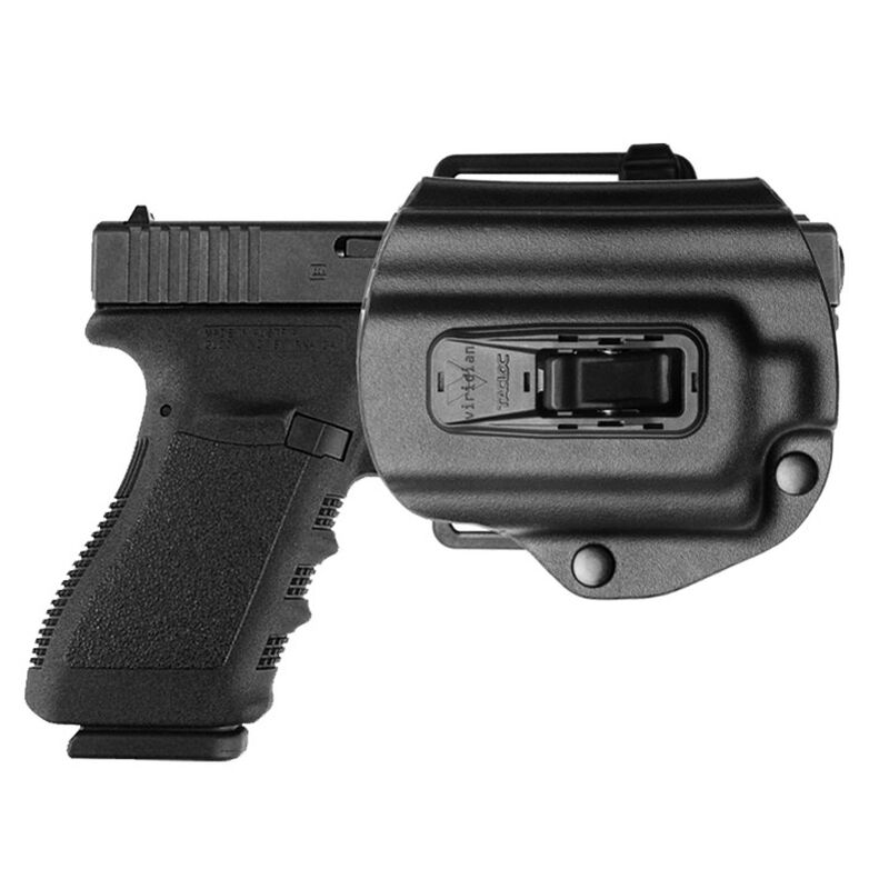 Viridian TacLoc Laser-Ready Autolock Kydex Holster For GLOCK 17/22/19/23 Right Hand Polymer Black 950-0015