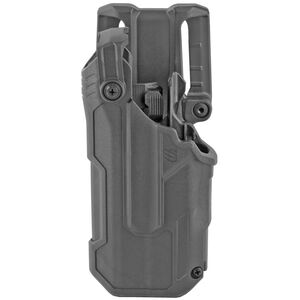Blackhawk T-Series L3D Duty Holster Fits Glock 17/22/31 with TLR7 Left Hand Polymer Black