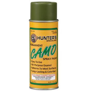 Hunter's Specialties Olive Drab Permanent Spray 12 Ounce Aerosol Can