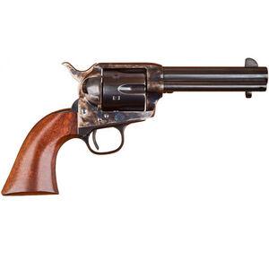 "Cimarron P-Model 1873 Revolver 44-40 Win 4.75"" Barrel 6 Rounds Case Hardened Frame Walnut Grips Blued"