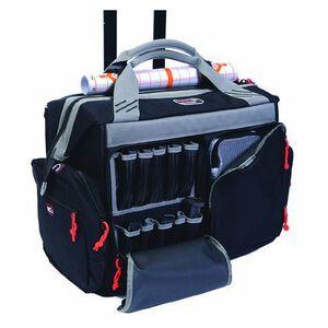 G Outdoors G.P.S. Large Rolling Range Bag Canvas Black 2215RB