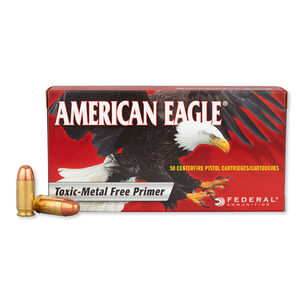 Federal American Eagle .45 ACP Ammunition 50 Rounds TMJ 230 Grains AE45N1