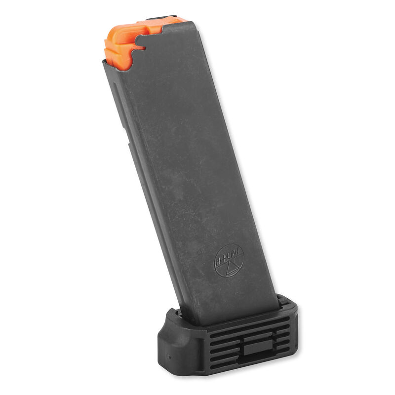 Hi-Point JHP and 4595 Magazine  45 ACP 9 Rounds Stainless Steel Matte Black