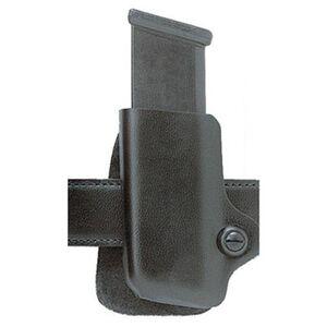 Safariland Model 074 Concealment Magazine Holder Paddle Belt Mount Glock/H&K/Sig/S&W Left Hand Plain Black 074-83-61