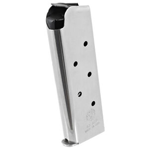Ruger SR1911 Officer/Defender Compact 7 Round Magazine .45 ACP Stainless Steel Natural Finish