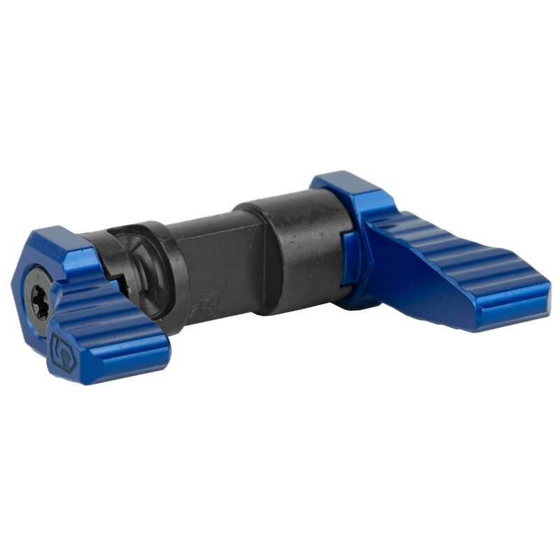 Phase 5 AR-15 90 Degree Ambidextrous Safety Selector CNC Precision Machined Anodized Finish Blue