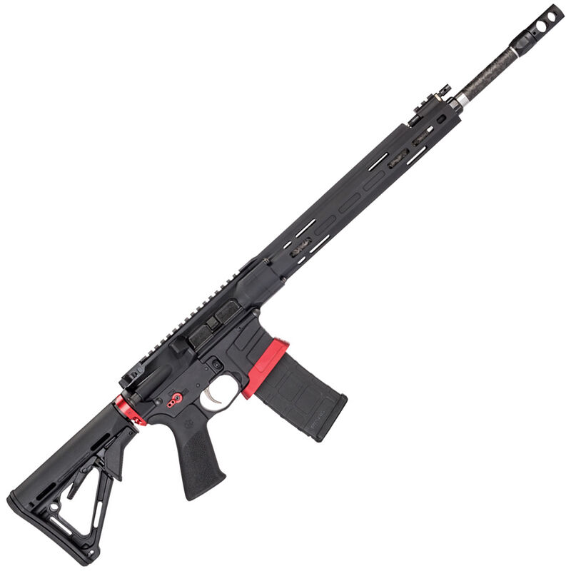 """Savage Arms MSR 15 Competition Semi Auto Rifle .223 Rem 30 Rounds 18"""" Barrel Side Charger Free Float M-LOK Handguard Magpul CTR Stock Black"""