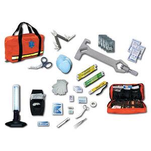 Emergency Medical International Disaster Kit Nylon Case Orange 471
