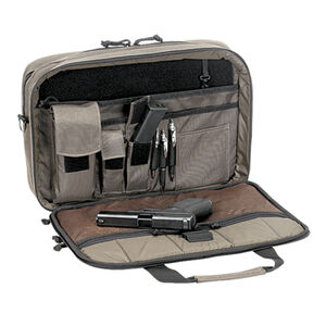 Voodoo Tactical Discrete Pro-Ops Briefcase Nylon Bronze 40-009960000