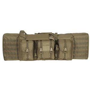 "Voodoo Tactical MOLLE Soft Rifle Case Nylon Padded 46"" Coyote Tan 15-761407000"