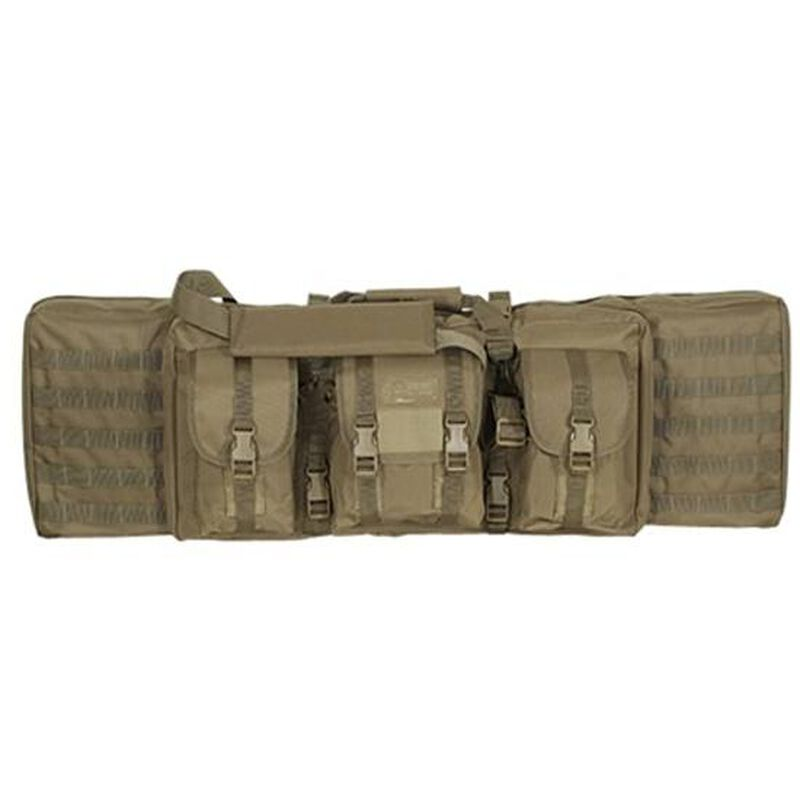 """Voodoo Tactical MOLLE Soft Rifle Case Nylon Padded 46"""""""