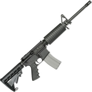 """Rock River LAR-15 Tactical CAR A4 5.56 NATO AR-15 Semi Auto Rifle 16"""" Chrome Lined Barrel 30 Rounds A4 Style Handguard Collapsible Stock Black Finish"""
