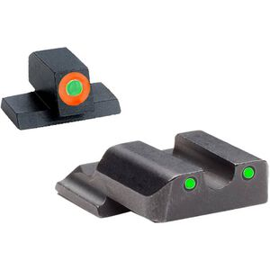 AmeriGlo Spartan Operator Tritium Sight Set S&W Shield