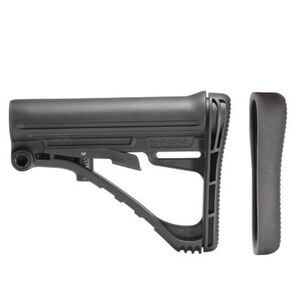 TacStar AR-15 Collapsible Stock Mil-Spec Diameter Glass Reinforced Polymer Matte Black Finish